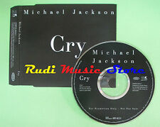 CD singolo Michael Jackson - Cry EUROPE 2001 PROMO SAMPCS 10844 1 no lp mc(S18)