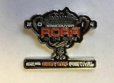 New 102nd Grey Cup 2014 Vancouver Collectors Lapel Hat Jacket Pin BB