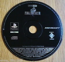 FINAL FANTASY VIII 8 DEMO DISC for SONY PS1, PS2 & PS3
