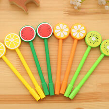 1pcs New Cute Cartoon Fruit Ball Point Pen Ballpoint Stationery Student Pens