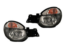 Subaru Impreza Wrx 02 03 2002 2003 Euro Jdm Black Housing Head Light Lamp Pair