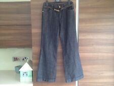M&S Autograph Weekend Ladies Jeans with brown belt. Size 8 Medium.  RRP £45