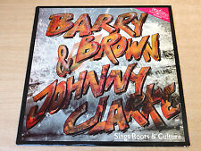 EX/EX !! Barry Brown & Johnny Clarke/Sings Roots And Culture/1992 Fatman LP