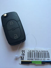 Remote Key for Skoda Octavia / Fabia - Cut to Photo - 1J0 959 753 A (98 - 01)