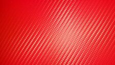 STOP LIGHT RED CARBON FIBER VINYL UPHOLSTERY FABRIC AUTOMOTIVE MARINE IN STOCK