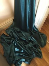 """1 MTR TEAL SATIN LINING FABRIC...58"""" WIDE"""