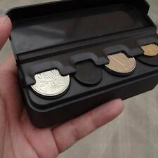 Plastic Coin Holder Change Storage Box Case Container Holder Car Accessory - LD