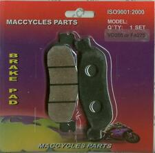 Yamaha Disc Brake Pads YZF-R6 YZF-R6S 1999-2002 Rear (1 set)