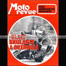 MOTO REVUE N°2063 AERMACCHI 125 R/C HONDA CB 350 FOUR XL 250 SPEED WAY 1972