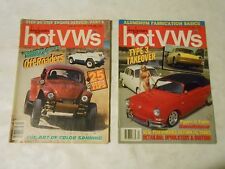 LOT OF 2 1988 DUNE BUGGIES AND HOT VWS MAGAZINES,APRIL,DECEMBER,BUGS,OFF-ROAD
