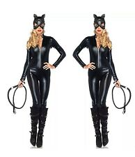 SEXY Da Donna Halloween FANCY DRESS CATWOMAN WILD Costume Cat cosplays / M 105