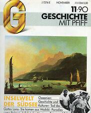 G Geschichte mit Pfiff 11/90 Inselwelt der Südsee