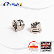 "2x 1/4"" Female to 3/8"" Male Conversion Tripod Head Thread Adapter Screw"