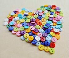 [wamami] 9mm Colorful Plastic Button BJD Doll Dress DIY Garment Accessory*20pc