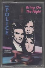 THE POLICE cassette tape BRING ON THE NIGHT sealed Overload Italy