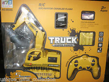 UNIQUE-  RECHARGEABLE REMOTE CONTROL JCB - 5 CHANNEL EXCAVATOR TRUCK- 4 FUNCTION