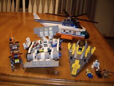 LOT 4 Vintage Lego Sets 2 Star Wars 2 Helicopters 6 figures R2D2 NOT COMPLETE!
