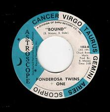 MODERN/SWEET SOUL-PONDEROSA TWINS + ONE-ASTROSCOPE 103-BOUND/I REMEMBER YOU