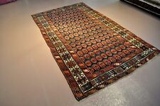 Vintage Rug  5' x 8' Authentic Handmade Persian Kurdish rug per 1900 Antique
