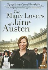 THE MANY LOVERS OF JANE AUSTEN DVD - AS SEEN ON BBC