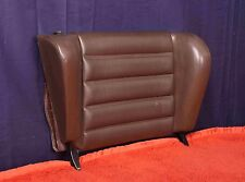 Porsche 911SC Rear Jump Seat Passenger's Top Folding Back Rest 911 911S brown