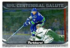 2016-17 UD Parkhurst CENTENNIAL SALUTE #S-22 JONATHAN QUICK Retail Only Kings