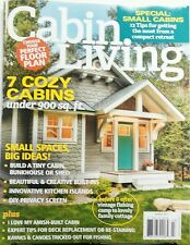 Cabin Living March 2017 Cozy Small cabin log homes Special Ideas FREE SHIPPING