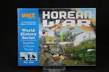 YU115 IMEX 1/72 maquette figurine 530 Word History Series Republic Korea Troops