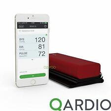 Qardio Arm Wireless Blood Pressure Monitor for iPhone iOS & Android Imperial Red