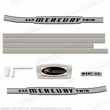 Mercury 1964 6hp Outboard Decal Kit - Reproduction Decals In Stock!
