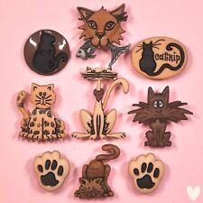 DRESS IT UP Buttons Alley Cat 3118 - Cats Cat kitten