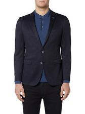 REMUS UOMO 'Luca' Slim Jacket/Navy - 42R NEW AW16/17