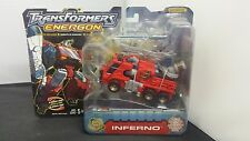 NEW Transformers Energon Inferno with Comic Book & Collector Card - NISB 2003