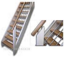 Kostenvoranschlag für gerade Treppe, Holztreppe, Raumspartreppe Fichte/Eiche