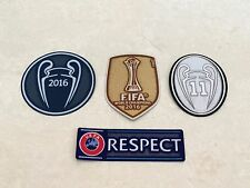 2016 UCL UEFA FIFA World Champions League 11 Trophy Patch Badge For Real Madrid