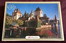 Oberhofen Castle Lake Thun Switzerland 1000 Piece Jigsaw Puzzle NEW SEALED Alps