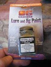 CS Component Systems 1 Oz. Lure & Jig Paint, Fast Drying Dip, Natural Glow Color
