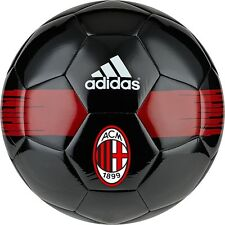 adidas Capitano 2016 - 2017 Soccer Ball AC Milan Edition New Red Black  Size 5