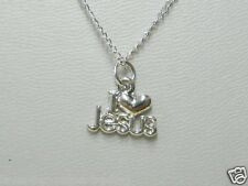 'I LOVE JESUS' CHRISTIAN NECKLACE/PENDANT/religious