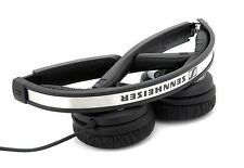 Genuine Sennheiser PX-200II On-Ear Stereo Headphones Foldable - BLACK