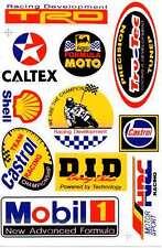 N-552 Sponsoren Sponsors Aufkleber Sticker 1 Bogen 27 x 18 cm Racing Tuning