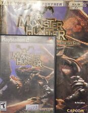 Monster Hunter for PS2 great condition complete with Strategy guide