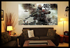 XBOX/PLAYSTATION GAMING GIANT CALL OF DUTY BLACK OPS III WALL ART POSTER PICTURE