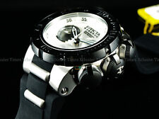 Invicta 52mm RESERVE SUBAQUA TORPEDO MISSILE DRAGON SWISS Chrono White DL Watch