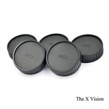 Lot of 5 Pieces Rear Lens Caps Cap for Minolta Rokkor MD MC 50mm 58mm F1.4 F1.2