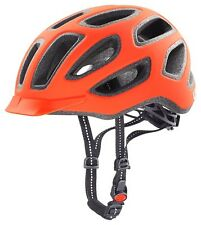 Radhelm Uvex  city e - Fb. neon orange mat  - Gr. M - L - 57 - 61 cm :NEU :2016: