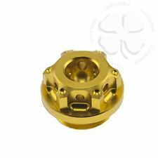 Gold GP Engine Oil Filler Cap Yamaha YZF R1 R6 R6s 600 1000 FZ1 FZ6 FZR FZ 600R
