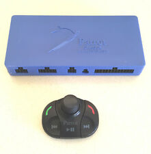 Parrot MKi9100 Handsfree Car Kit Part Bluetooth Remote Control + Blue Box Unit