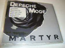 RAR MAXI CD. DEPECHE MODE. MARTYR. 3 TRACKS. WITH STICKER