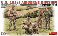 1/35 MiniArt 35089 -.U.S. 101st Airborne - Normandy Plastic Model Kit 5 Figures